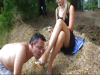 Chica peliculas de esposas xxx con un culo magnífico - porno en el estudio fotográfico